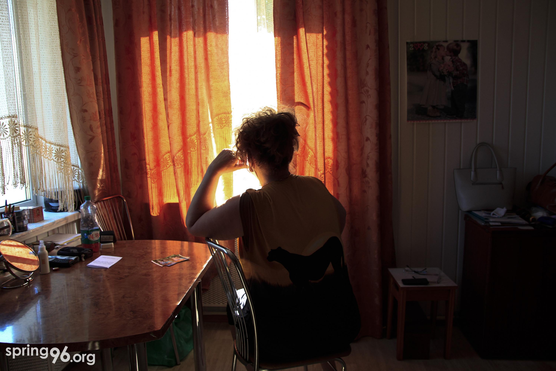 Мама Александра Арановича. Фото: spring96.org