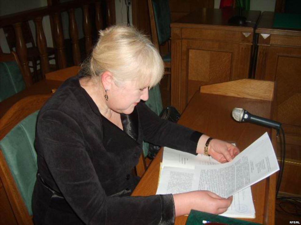 Ганна Бахціна. Фота: svaboda.org