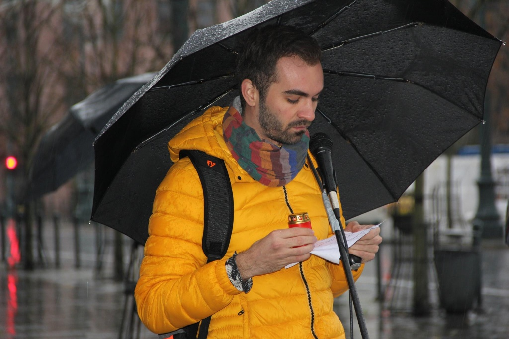 Назарый Баярскі. Фота: belaruspartisan.org