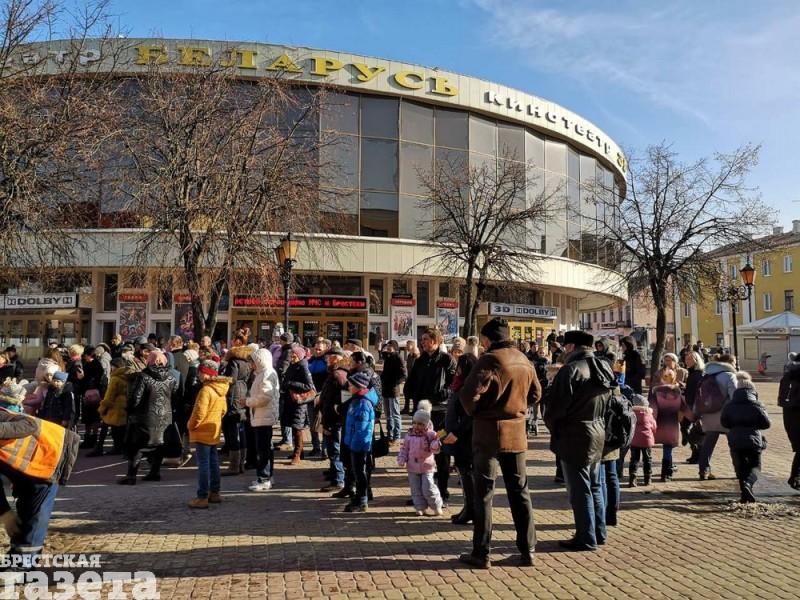 Акцыя супраць будаўніцтва завода АКБ у Берасці. Фота: b-g.by