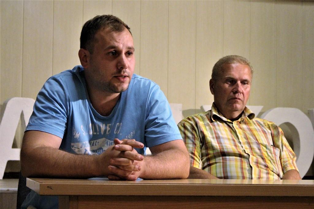 Андрэй Бодзілеў і Уладзімір Краўчанка. Фота: mspring.online