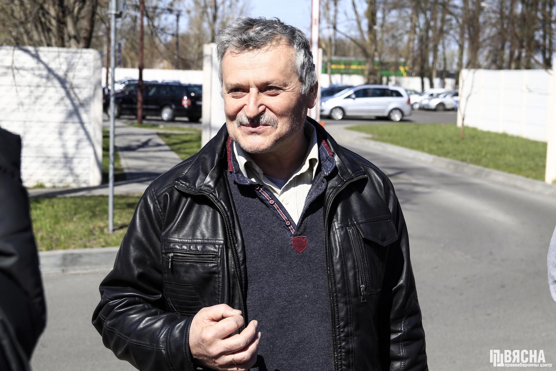 Правозащитник Владимир Величкин после освобождения из изолятора. Фото: ПЦ
