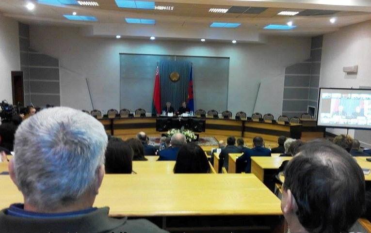 Вокружных избиркомах Минска уполномоченные политических партий иобъединений составили 86,3%