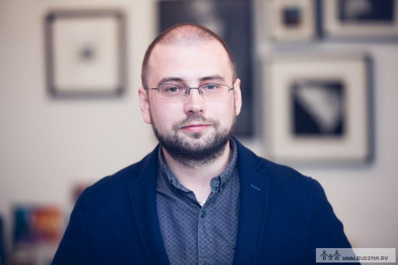 """Заснавальнік медыйнага праекту """"Тузін Гітоў"""" Cяргей Будкін"""