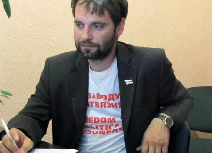"Ілля Дабратвор. Фота ПЦ ""Вясна""."