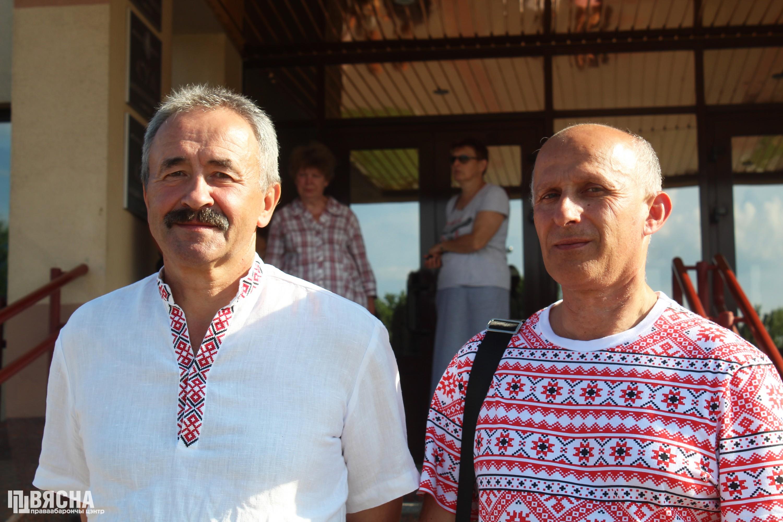 Геннадий Федынич и Игорь Комлик