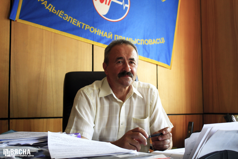 Геннадий Федынич в офисе
