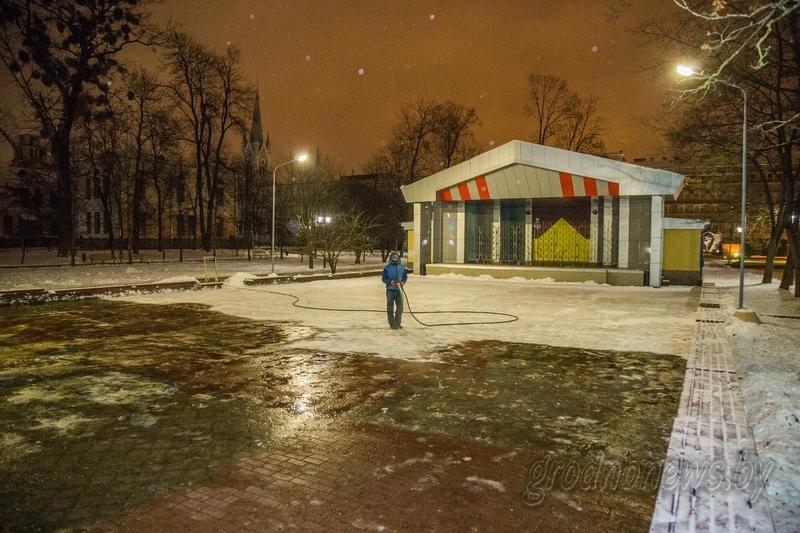 Парк імя Жылібера ў Гародні. Фота: grodnonews.by
