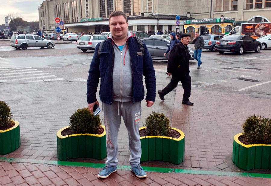 Сяргей Герасімовіч.