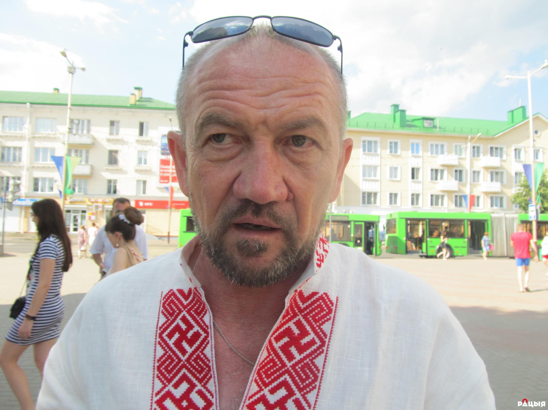 Уладзімір Гундар. Фота Радыё Рацыя.
