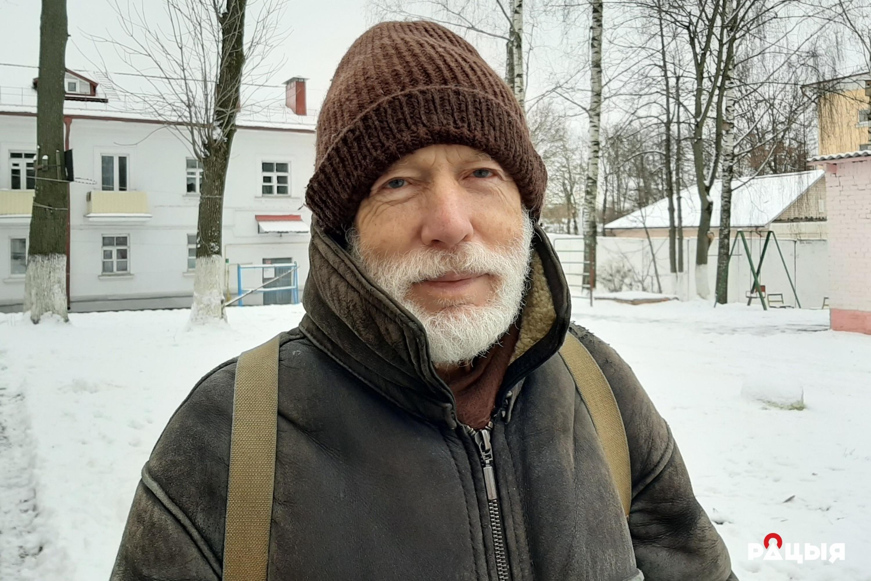 Барыс Хамайда. Фота: Беларускае Радыё Рацыя.