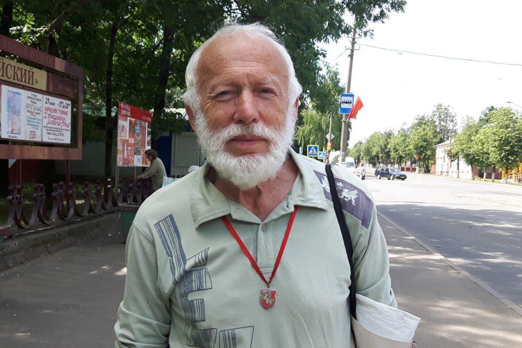 """Барыс Хамайда. Фота:""""Беларускае Радыё Рацыя"""
