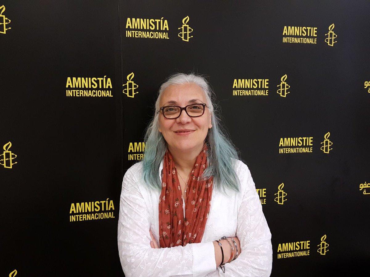 Кіраўніца турэцкага прадстаўніцтва праваабарончай арганізацыі Amnesty International Ідыль Эсэр