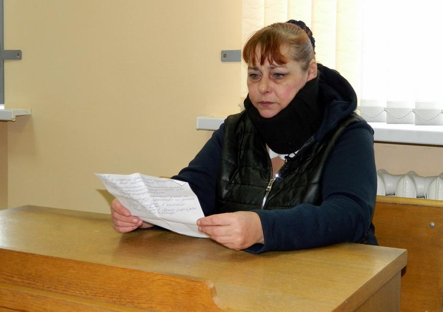 """Алена Янушкоўская. Фота: """"Віцебская Вясна""""."""
