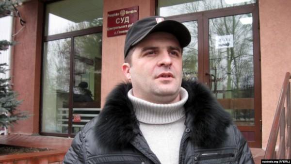 Зміцер Карашкоў. Фота Радыё Свабода