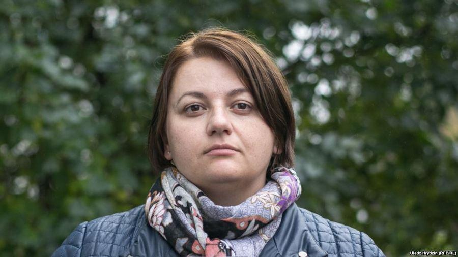 """Таццяна Каравянкова. Фота: """"Радыё Свабода""""."""