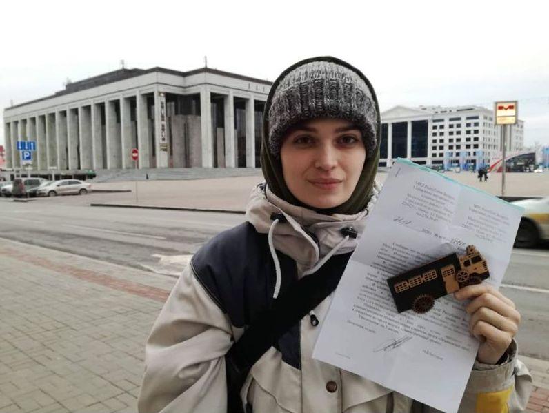 Марына Касінерава. Фота з Facebook