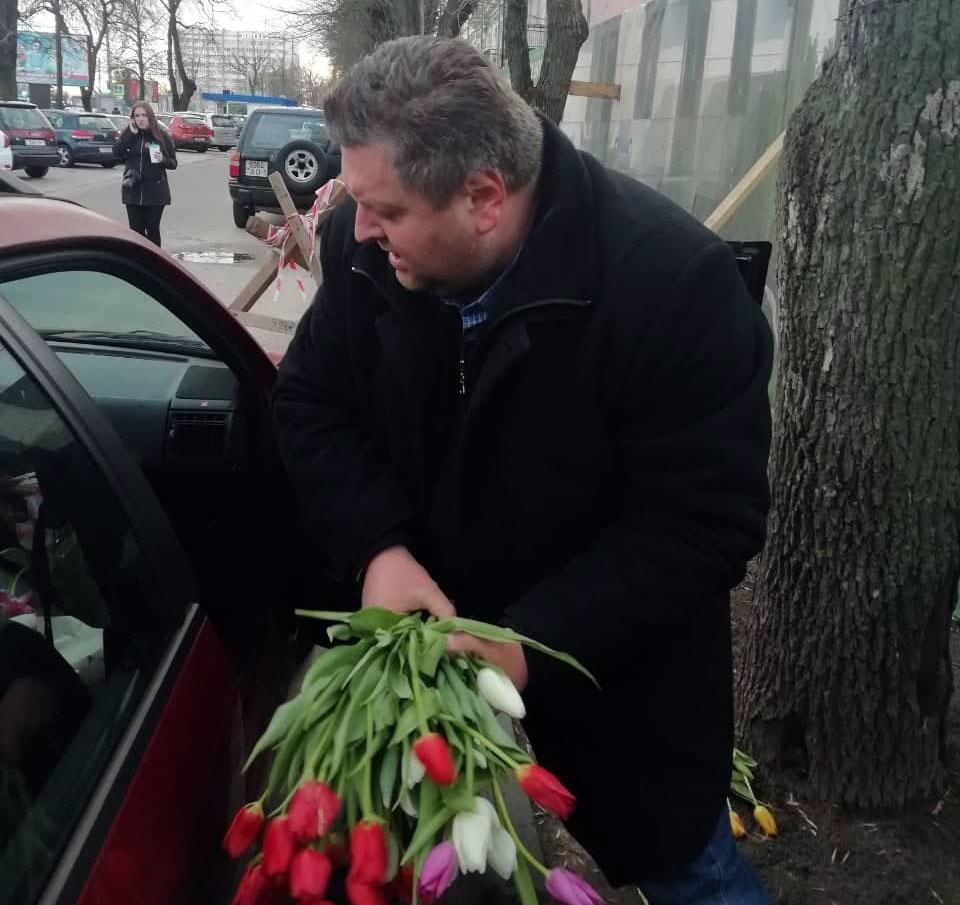 Берасцейскі актывіст Віталь Казак.