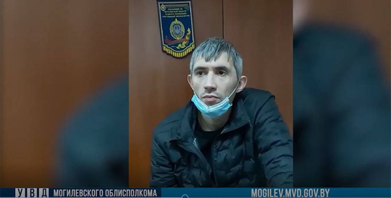 Іван Ківа. Скрыншот з відэа