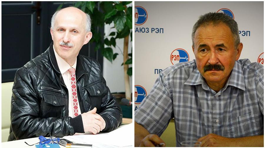 Ігар Комлік і Генадзь Фядыніч