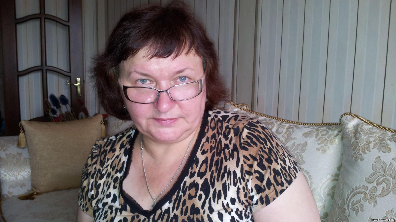 Людміла Кучура, жонка асуджанага Пятра Кучуры / svaboda.org
