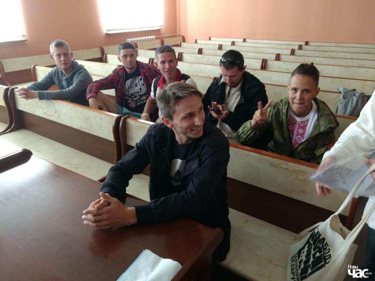 """Дзяніс Урбановіч у судзе. Фота """"Новага часу"""""""