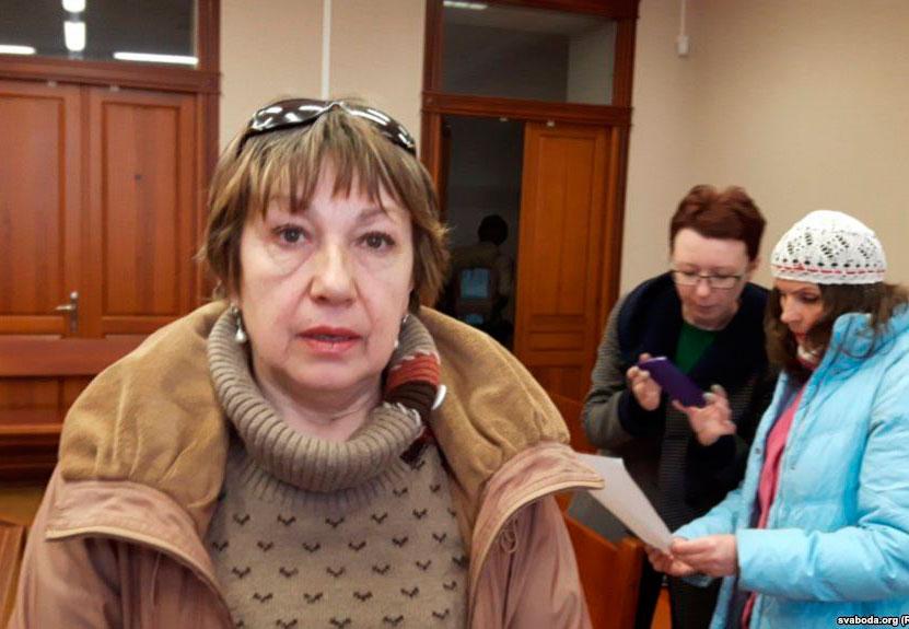 Галіна Лагацкая. Фота Радыё Свабода.