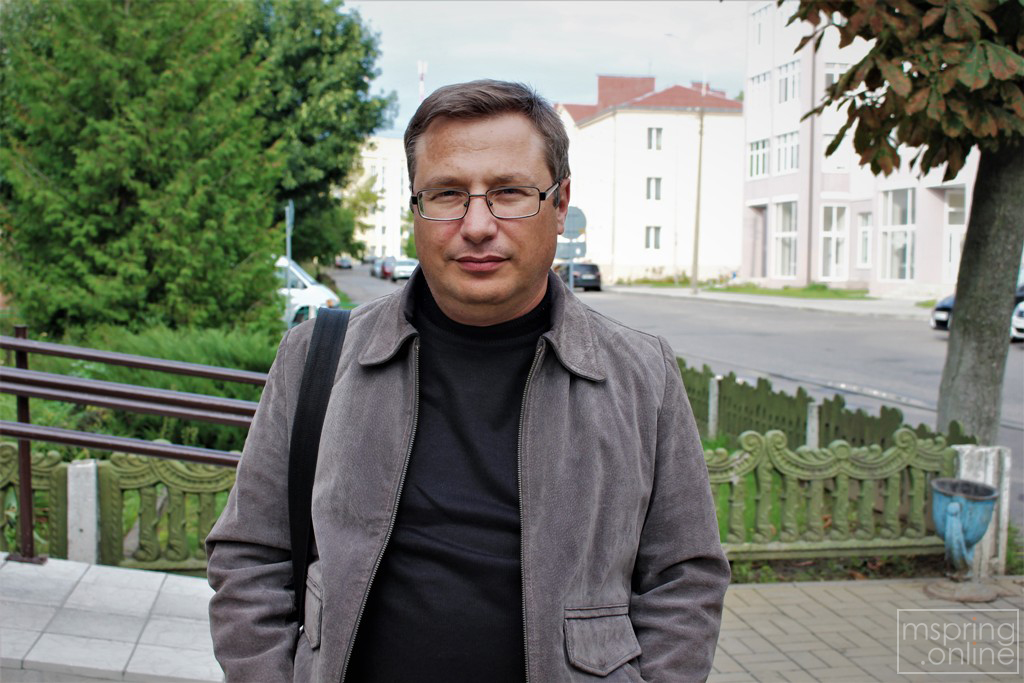 Уладзімір Лапцэвіч. Фота mspring.online