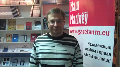 Журналіст БелаПАН Уладзімір Лапцэвіч