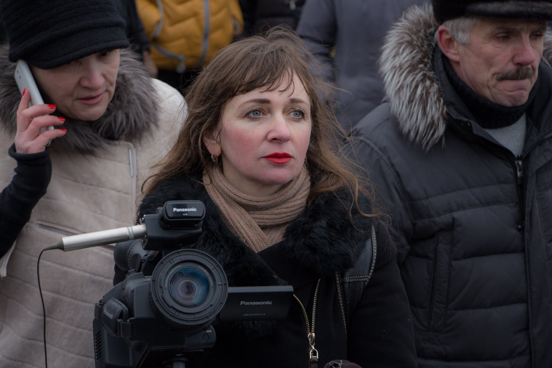 Журналістка Ларыса Шчыракова. Фота: Марына Драбышэўская