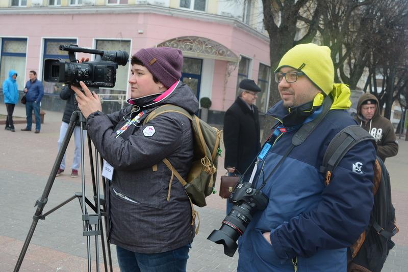 Мілана Харытонава і Алесь Ляўчук. Фота baj.by