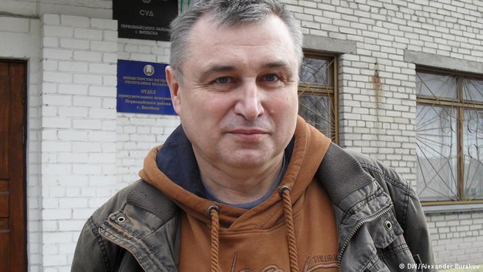 Павел Левінаў. Фота DW