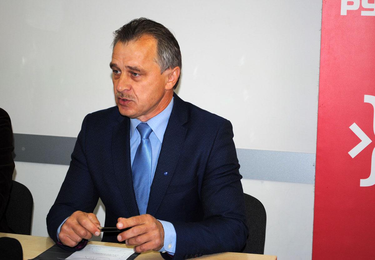 """Анатоль Лябедзька. Фота: ПЦ """"Вясна""""."""