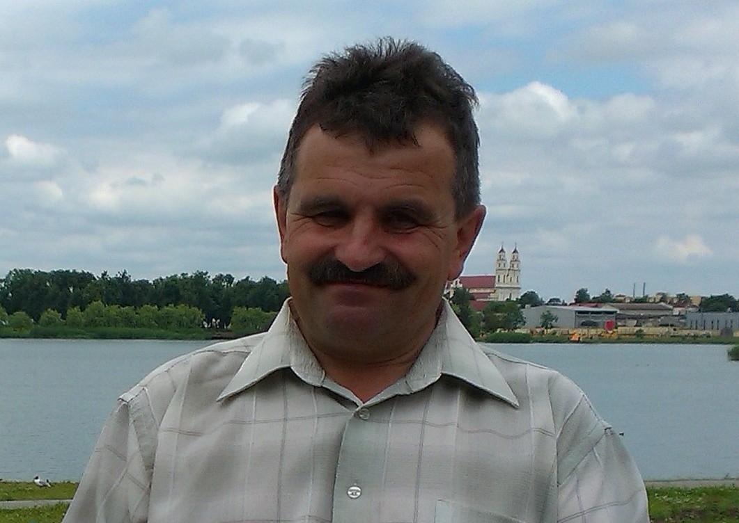 Журналіст Зміцер Лупач.