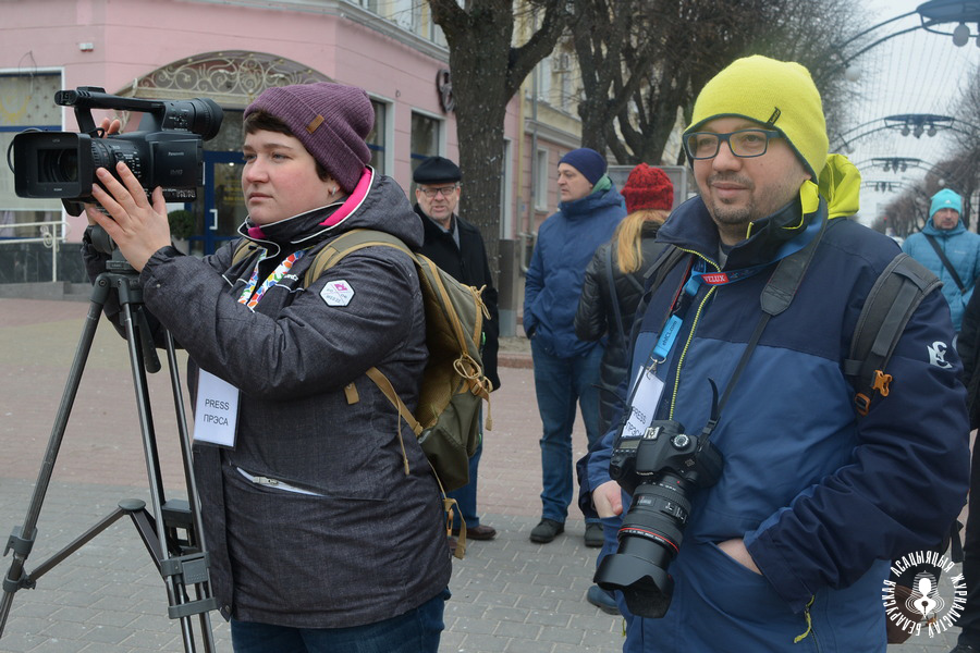 Мілана Харытонава і Алесь Ляўчук