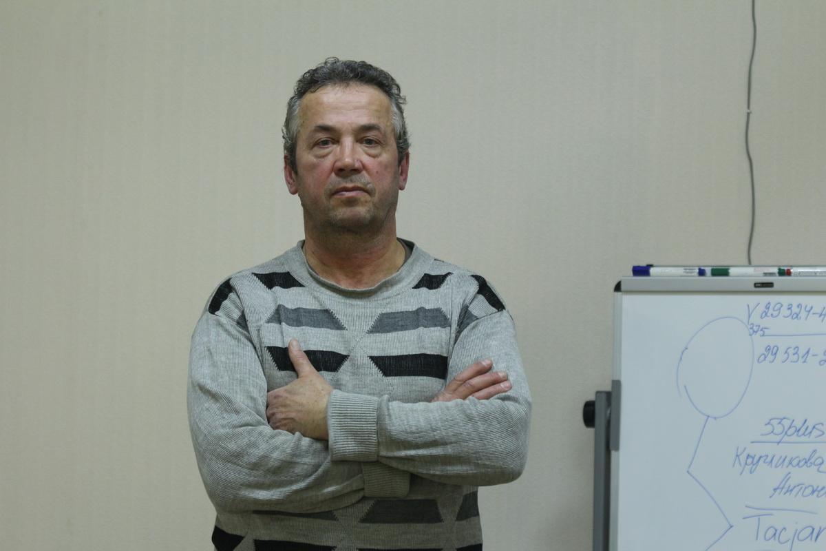 """Алег Максімаў. Фота: """"Гомельская вясна""""."""