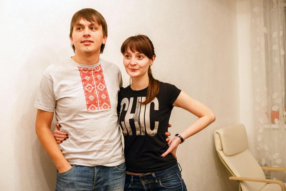 Ягор Марціновіч і Адар'я Гуштын. Фота: БАЖ.