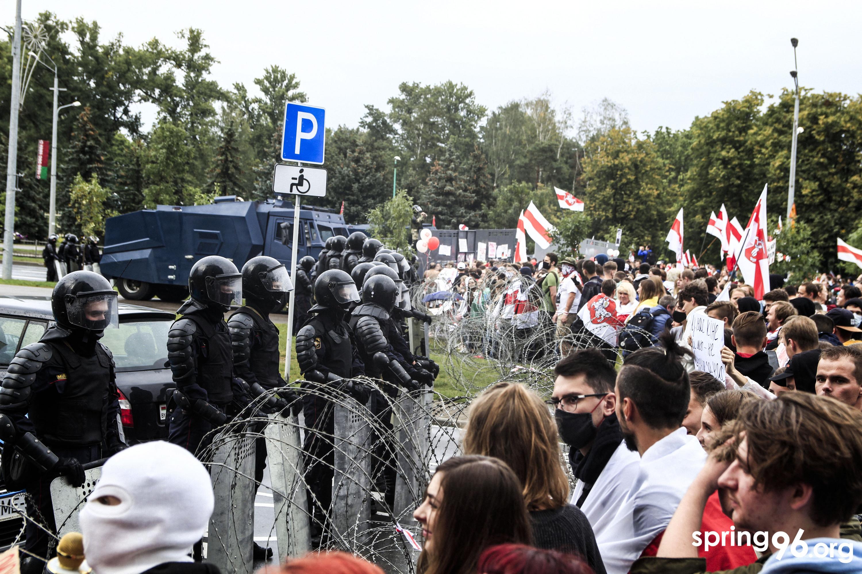 Марш Адзінства, Мінск, 6 верасня 2020. Фота: spring96.org