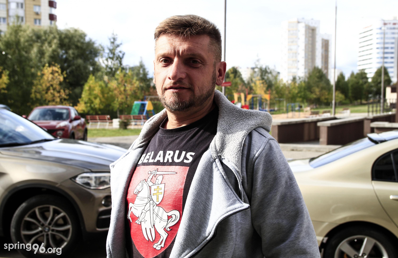 Журналіст і сябра ПЦ «Вясна» Андрэй Мядзведзеў. Фота: spring96.org