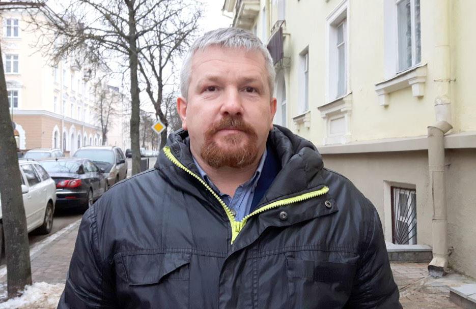Валерый Мінец. Фота: svaboda.org