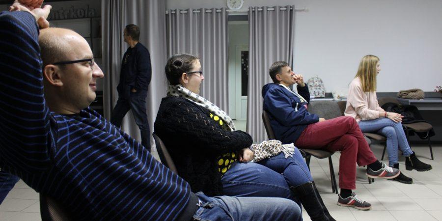 Удзельнікі і ўдзельніцы форму-тэатра. Фота: mspring.online