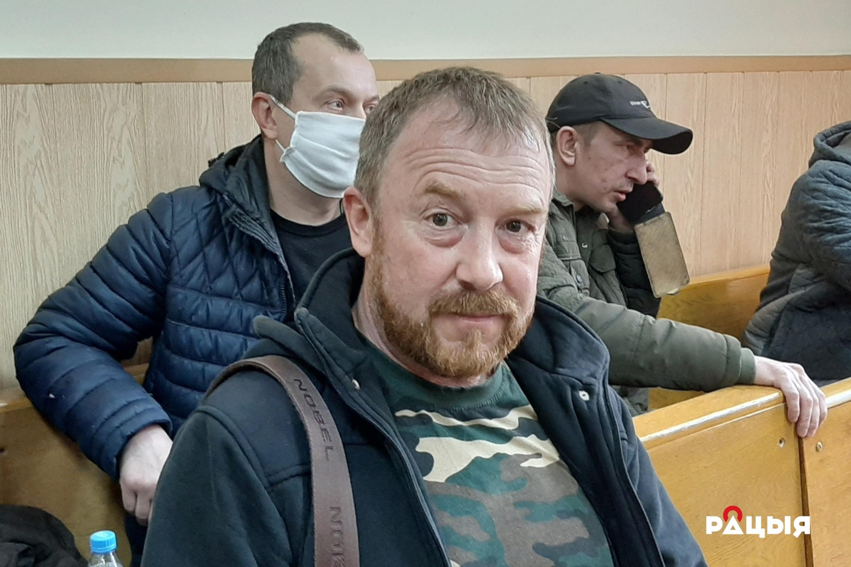 Андрэй Новікаў у судзе. Фота Радыё Рацыя