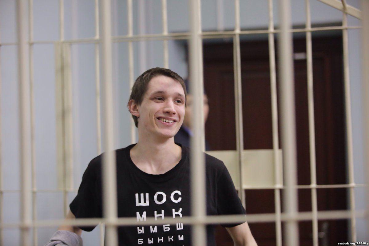 """Дзмітрый Паліенка. Фота """"Радыё Свабода"""""""