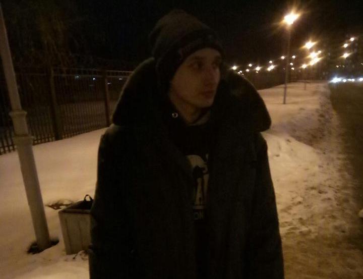 Дзмітрый Паліенка на волі 23 студзеня 2019 года. Фота з Facebook Марыны Касінеравай