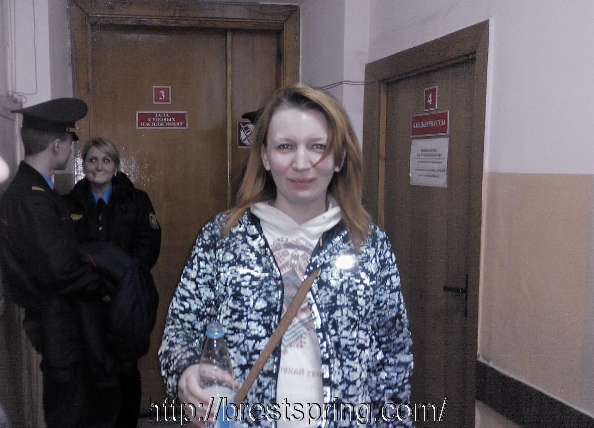 Грамадзкая актывістка Наталля Папкова