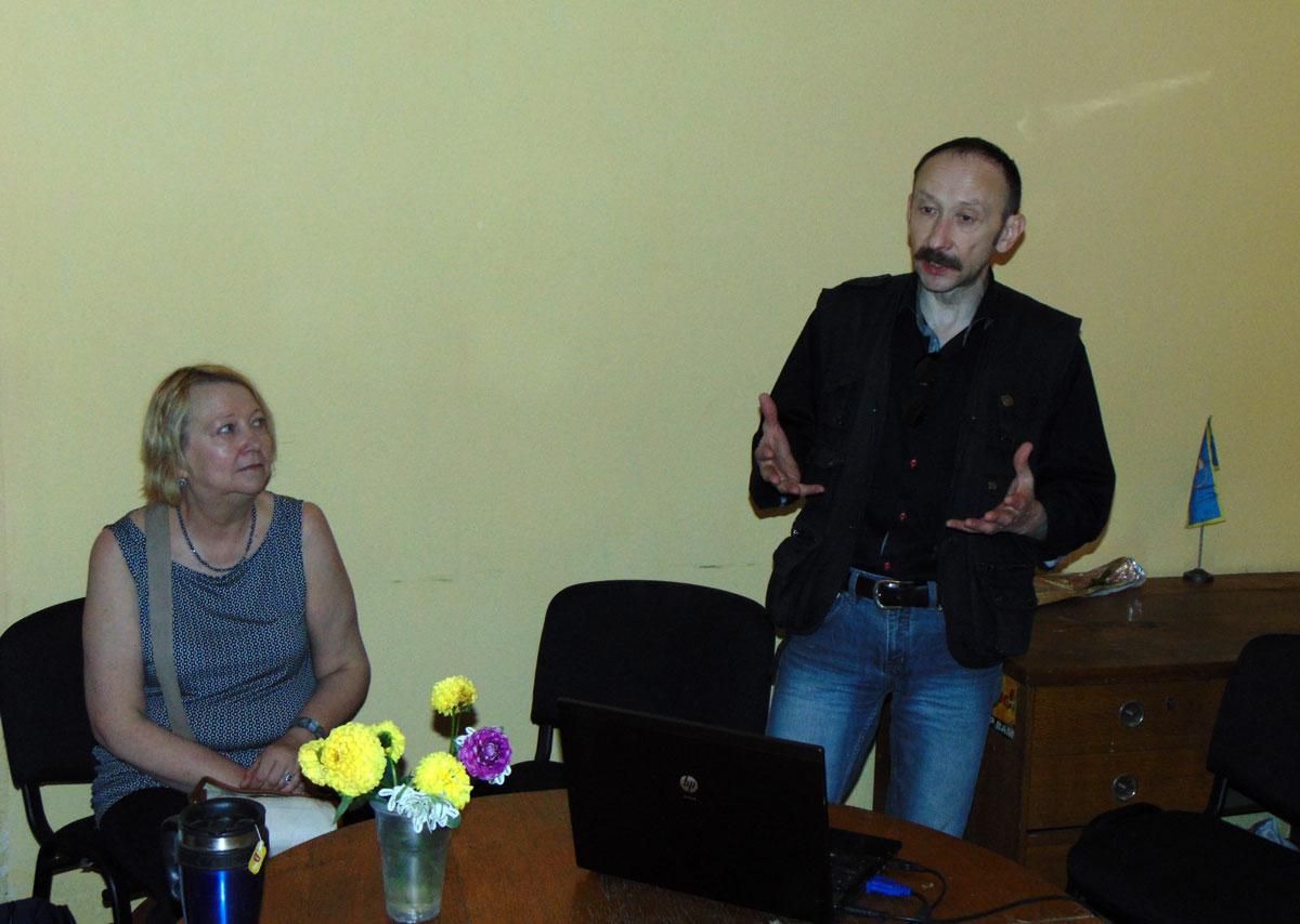 Абмеркаванне дакументальнага фільма Віктара Корзуна ў Рэчыцы