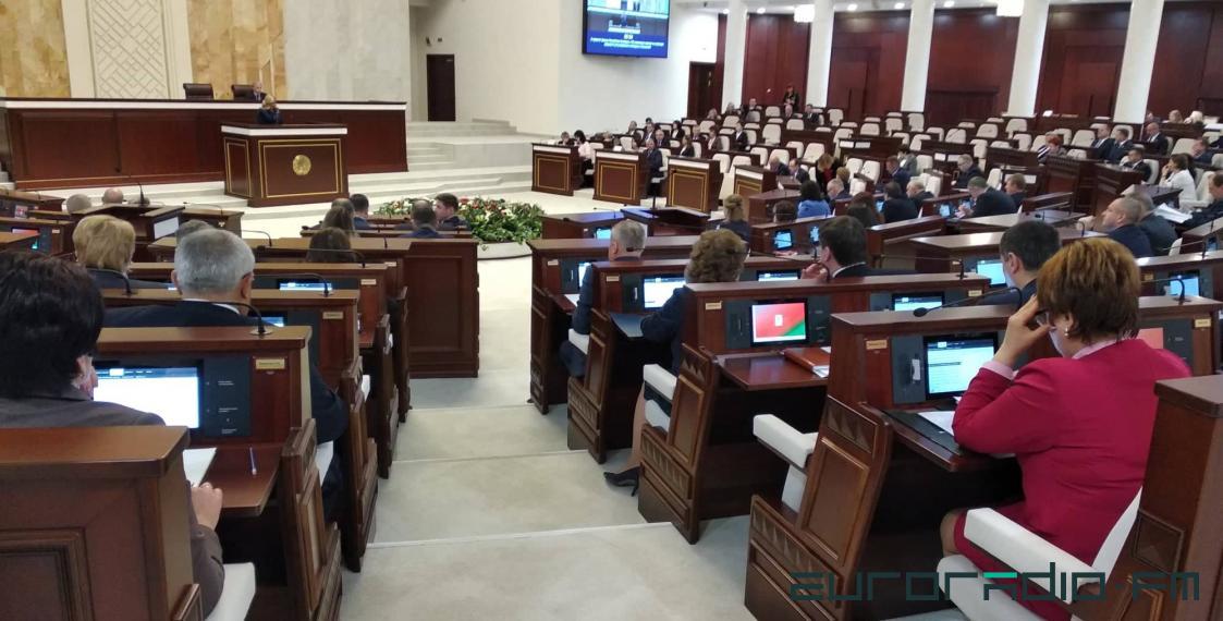 Пасяджэнне Палаты прадстаўнікоў / Зміцер Лукашук, Еўрарадыё