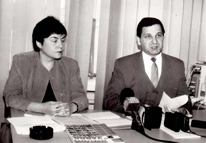 Жанна Літвіна і Міхаіл Пастухоў