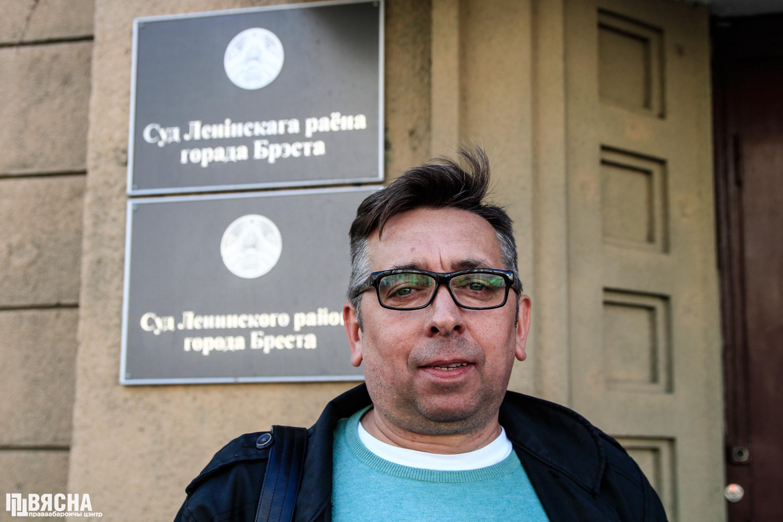 """Блогер Сяргей Пятрухін. Фота: ПЦ """"Вясна"""""""