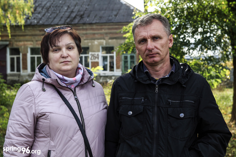 Отец Олега Рубца Виктор и его жена Татьяна. Фото: spring96.org